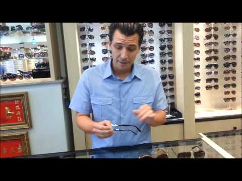 Joe Shows Off Ferragamo Eyewear at Manhattan Grand Optical, NYC