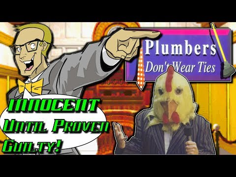 "Plumbers Don't Wear Ties (3DO) - Worst ""Game"" Ever? - INNOCENT Until Proven Guilty!"
