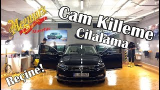 VW Passat Cam Killeme ve Cilalama - Reçine Lekesi içerir - Video