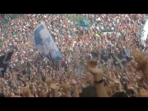 Napoli-Fiorentina  2-1 18-10-2015 Gol Insigne Live in HD dalla Curva B