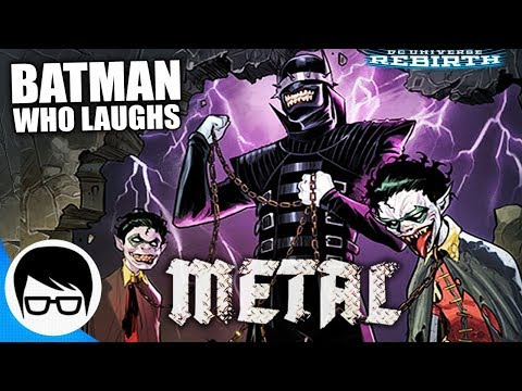 EL BATMAN QUE RÍE | METAL: Gotham Resistance (Parte 1) - Teen Titans Rebirth #12 | COMIC NARRADO