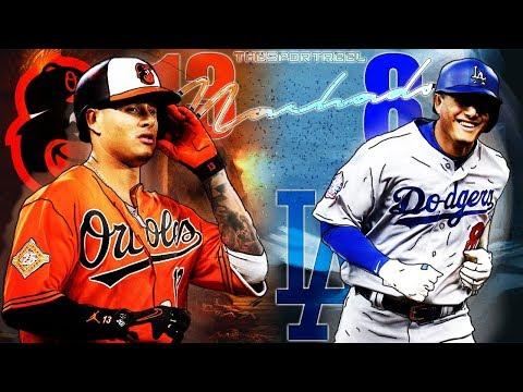 Manny Machado | 2018 Orioles & Dodgers Highlights ᴴᴰ