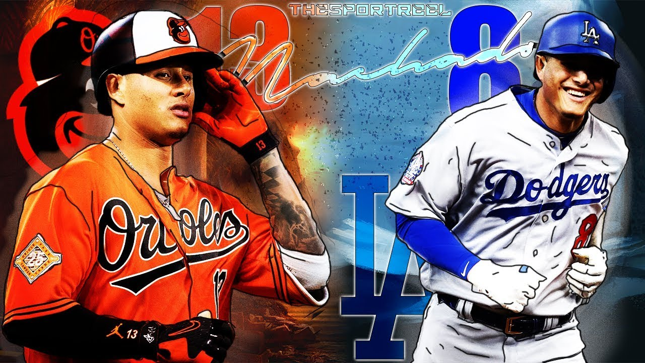Manny Machado | 2018 Orioles & Dodgers Highlights Mix ᴴᴰ