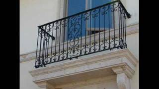 RaMeZ FERFORJE Sanat Atölyesi - Balkon Korkulukları - Ferforje istanbul, dekoratif demir, kapı