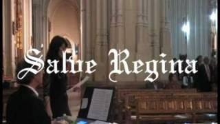 SALVE REGINA: canto gregoriano (música para bodas con soprano y órgano)