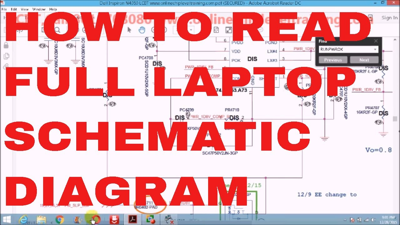 how to read laptop schematic diagram online laptop chip level repairing coure [ 1280 x 720 Pixel ]