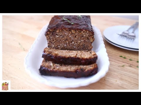 Vegan Thanksgiving: The ULTIMATE Vegan Meatloaf | The Mushroom Den