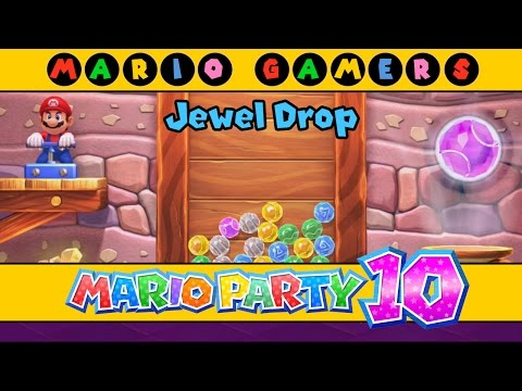 Mario Party 10 - Bonus Games - Jewel Drop (1 Player)