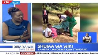 Waliomsaidia mama mmoja aliyejifungua Uhuru Park |Shujaa Wa Wiki