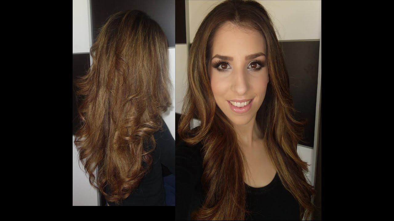peinado liso con volumen utilizando las ghd youtube - Peinados Lisos
