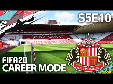 EUROPA LEAGUE KNOCKOUTS! | SUNDERLAND RTG CAREER MODE S5E10