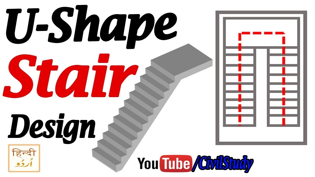 U Shape Stairs U Shape Stairs Design Stairs Design Stairs   U Shaped Staircase Design   Round Shape   Traditional   House   Tiny   L Shaped