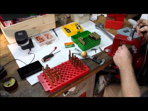 Detailed instructions how to reload for the .375 H&H Magnum