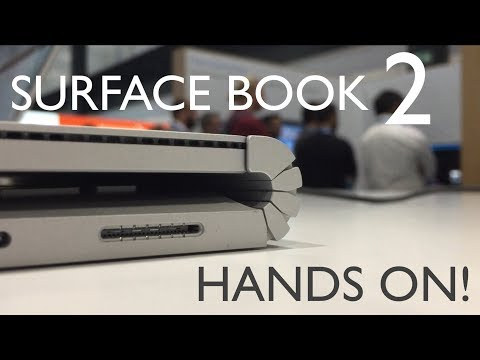 Surface Book 2 Hands On!