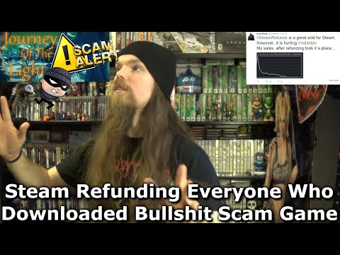Steam Refunding Everyone Who Downloaded Bullshit Scam Game