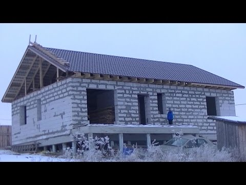видео: Как сделать крышу. Дом своими руками.