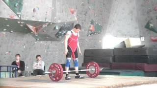 Хафизов Илья, 15 лет Толчок 80 кг вк 50 кг