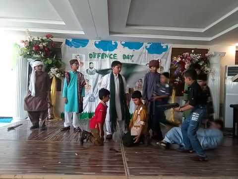 Grade 5 and 6 Boys performance- 6th September 2016 - The Defence Day