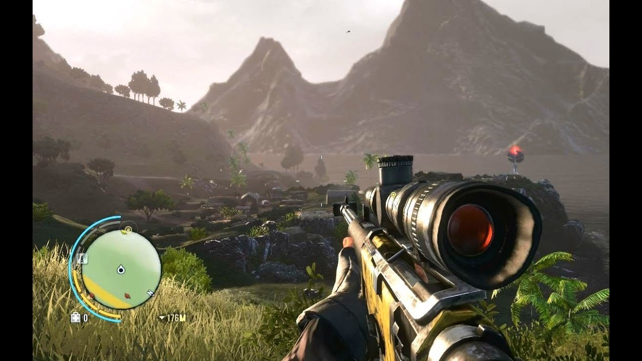Far Cry 3 Z93 Sniper Gameplay Sp Youtube