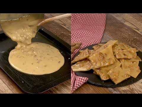 Peanut butter brittle a quick recipe to enjoy your guests