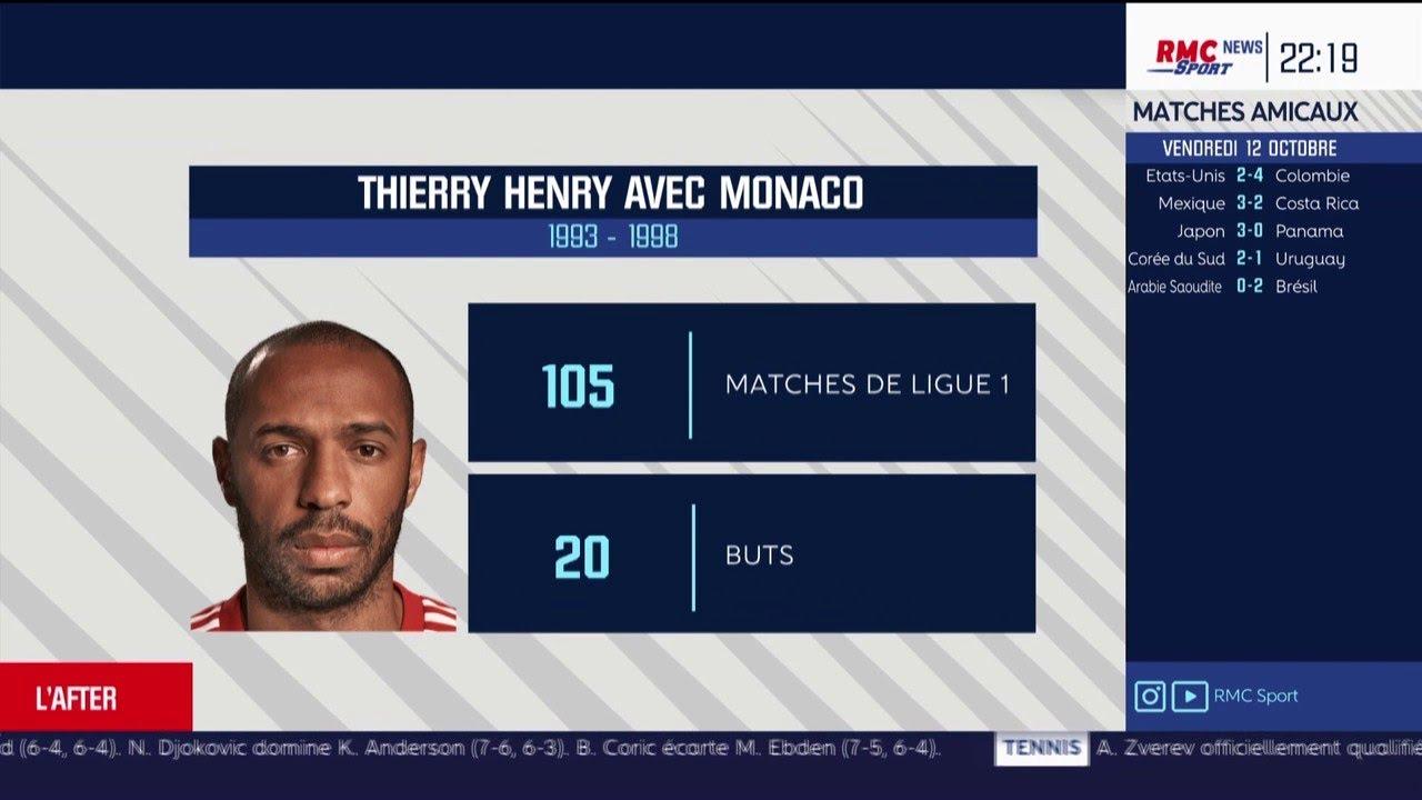 La certitude de Ludovic Obraniak concernant la politique de Monaco et Thierry Henry