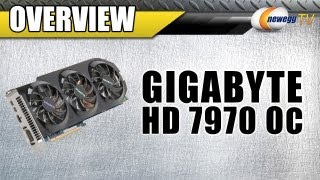 newegg tv gigabyte amd radeon hd 7970 overclocked 3gb gddr5 pci e 3 0 video card overview