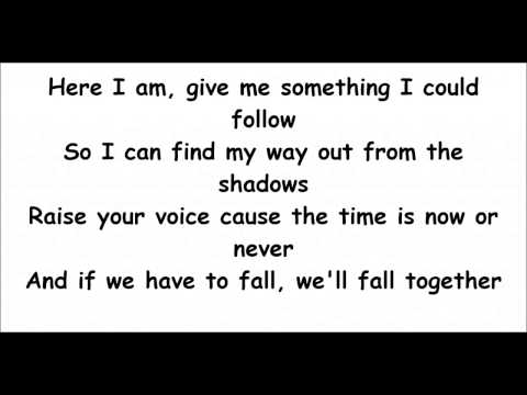 Fall Together By The Temper Trap (Lyric Video)