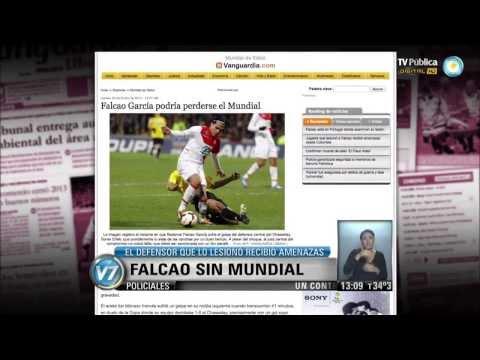 Visión 7: Falcao no jugará el Mundial Brasil 2014