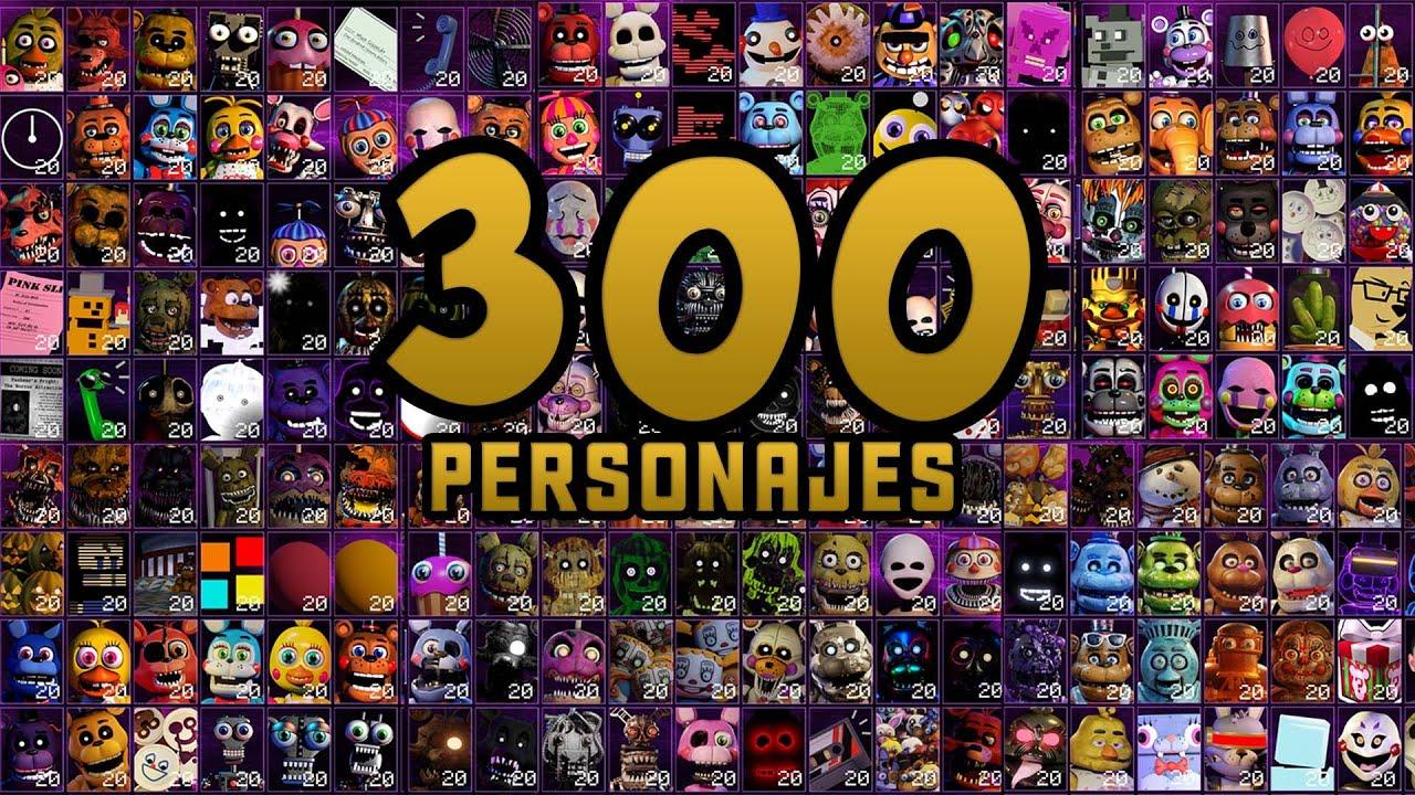 Ultra Custom Night AHORA SÍ es una LOCURA 300 ENEMIGOS !! FNAF Game