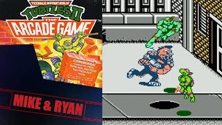 Teenage Mutant Ninja Turtles II: The Arcade Game (NES) Mike & Ryan