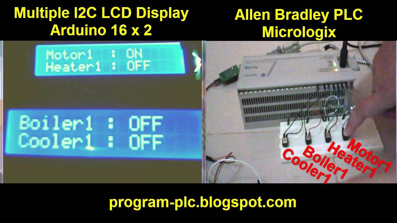 95 2 Lcd Display Lpc1768 4bit 8x2 Parallel Character 2x16 16x2 162 16 X 1602 Module Arduino Raspberry Multiple I2c For Allen Bradley Plc Micrologix