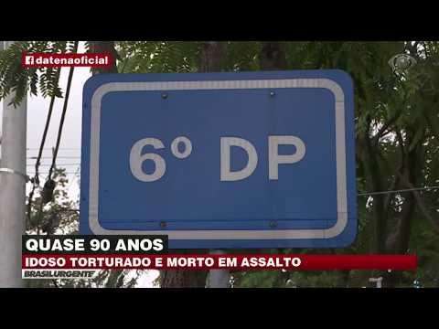 Idoso é torturado e morto em São Paulo