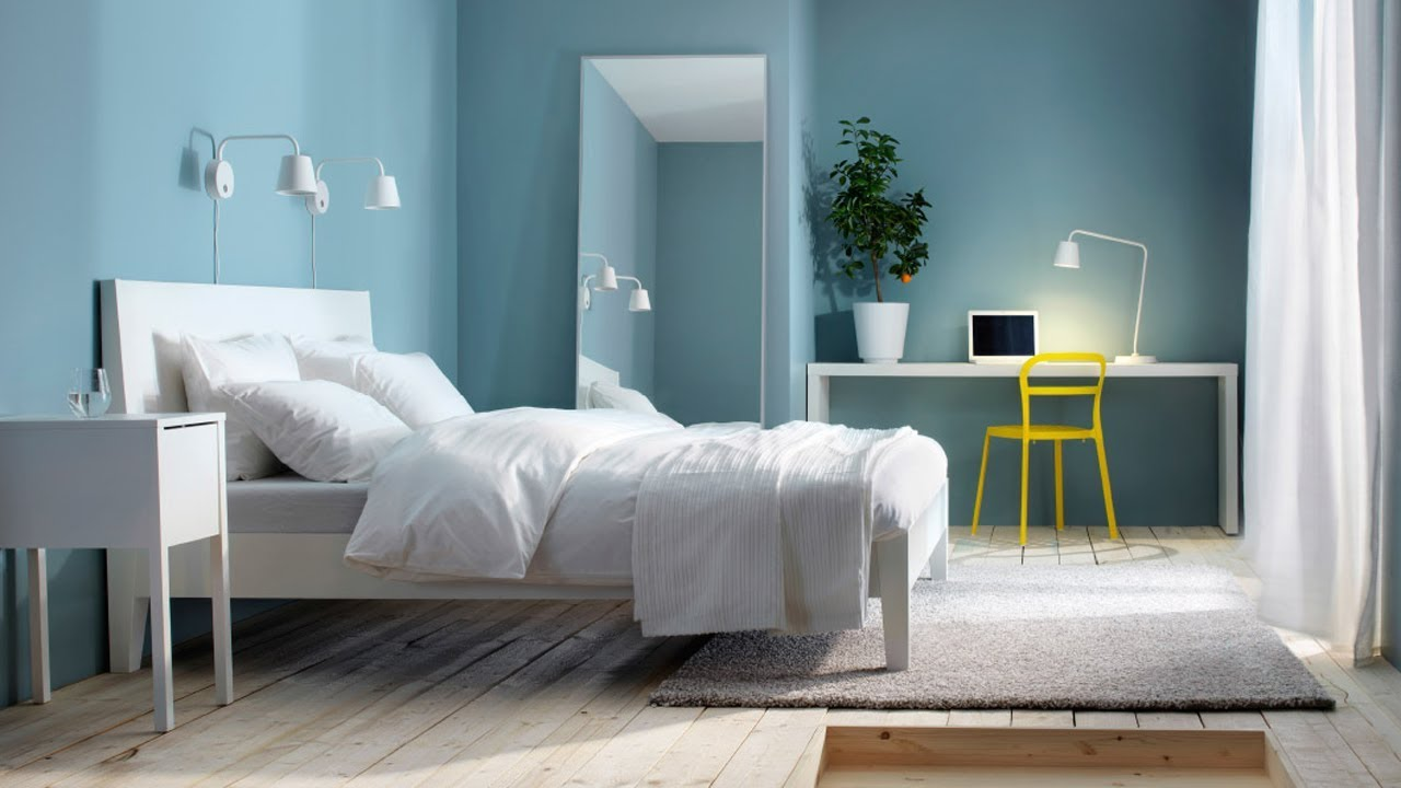 Blue Bedroom Design Ideas Paint Color 2018
