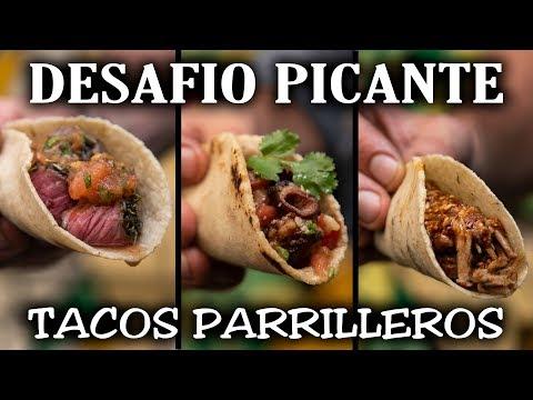 Desafío Picante de Tacos Parrilleros   El Laucha Responde