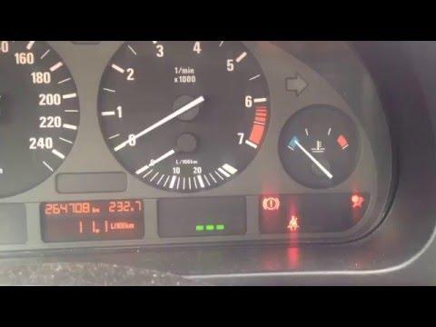 Отключение MAT сенсора  BMW