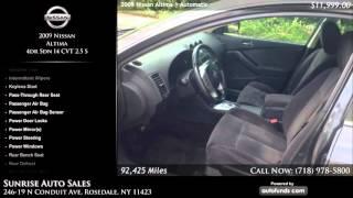 Used 2009 Nissan Altima | Sunrise Auto Sales, Rosedale, NY