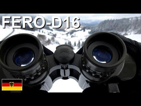 Hensoldt 8x30m bundeswehr fernglas fero d16 german army binoculars