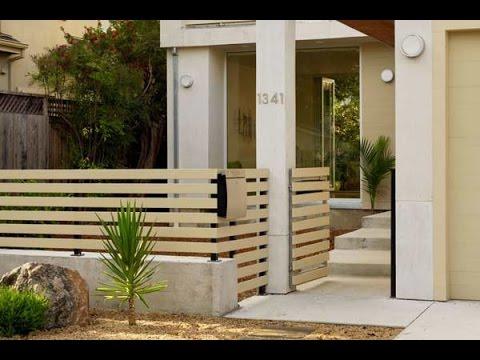 Contoh Pagar Tembok Rumah Minimalis Contoh Pagar Rumah Minimalis Youtube