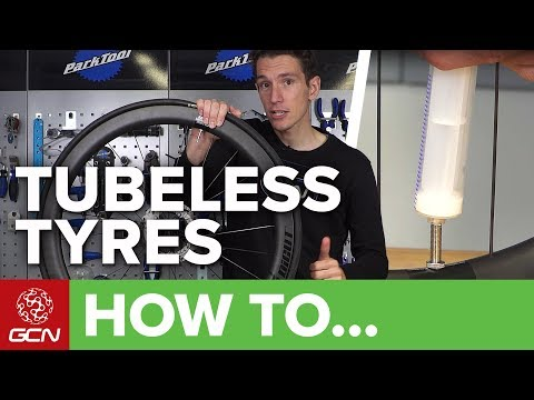 How to fit giant tubeless tyres