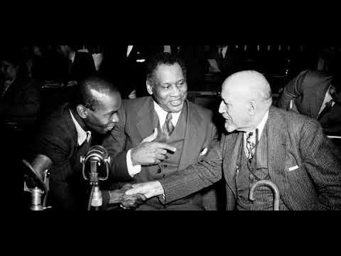 Wake up with WURD- 25th April, 2018- The legacies of Paul Robeson, W.E.B. Du Bois