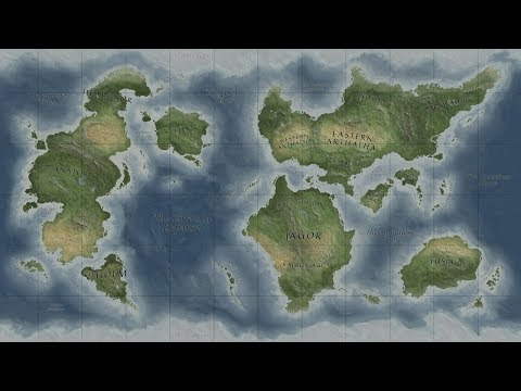 10 - Fantasy Map in Photoshop | Grid and Ornaments