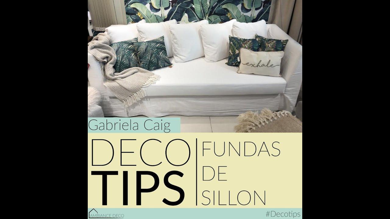 Deco Tip 3 - Fundas de Sillon