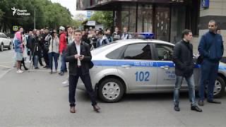 Блогер 'Немагии' прибыл на допрос в Москву