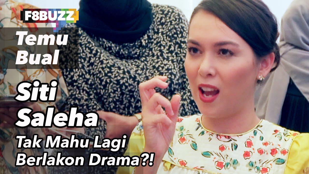 Download Siti Saleha Tak Suka Dibenci. Tak Mahu Lagi Berlakon Drama?