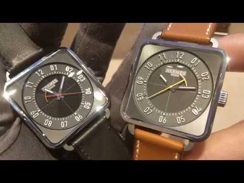 【SIHH2018 最佳設計 】Hermes 愛馬仕 Carré H 腕錶