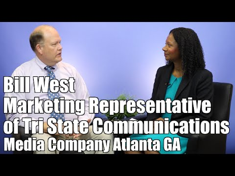 #41 An Interview With Bill West | Tri State Communications | Atlanta GA | In The Studio