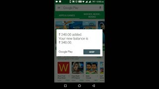 How to add money in play store WITHOUT​ credit card, net banking or Googleplay store gift cards