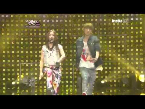 [CUT] 120817 BoA + Sehun EXO-K - Only One @ Music Bank