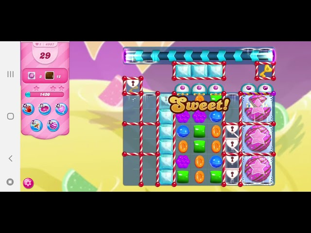Candy Crush Saga niveau 4987