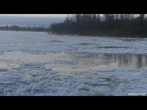 РЫБАЛКА НА ЗАБЕРЕГАХ РЕКИ ЧУЛЫМ! зимняя рыбалка! первый лед на реке Чулым!